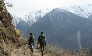 Searching for family in Nepal
